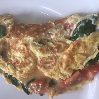 den perfekta omeletten