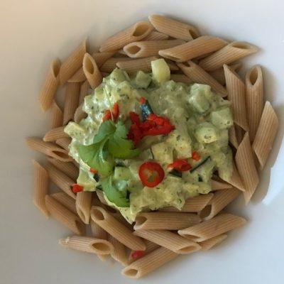 enkel zucchinipasta