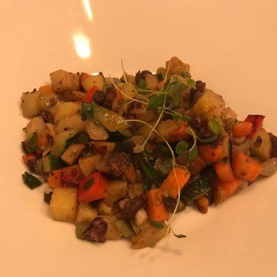 Vegetarisk pyttipanna